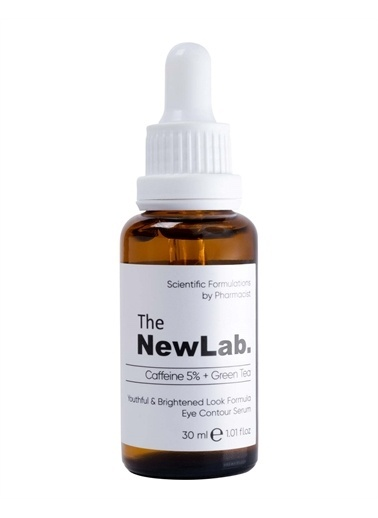 The NewLab Aydınlatıcı Göz Çevresi Serumu Caffeine 5% + Green Tea  Renksiz